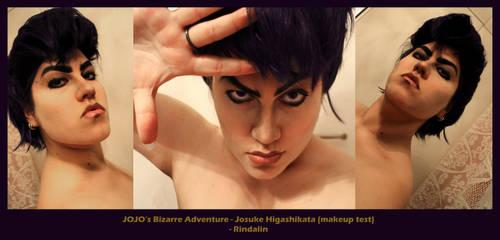 Josuke Higashikata makeup test by Rindalin