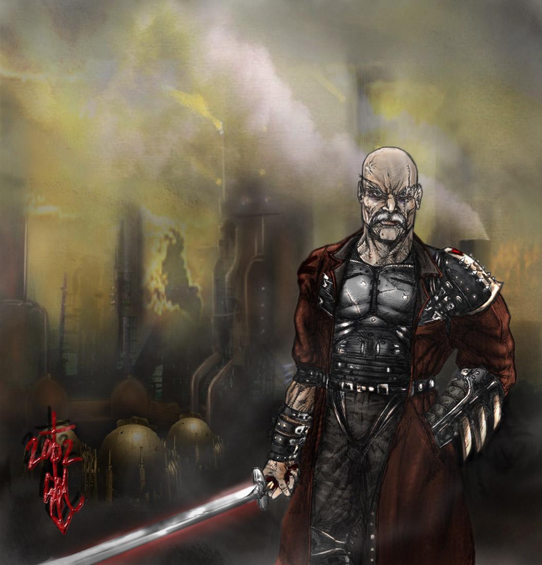 Ancient Samurai 2079 by thedarkcloak