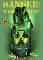 Radioactive Goo Zombie by thedarkcloak
