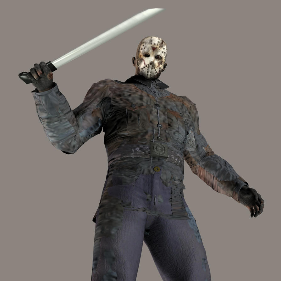 Jason Voorhees 3d - Hes here by thedarkcloak