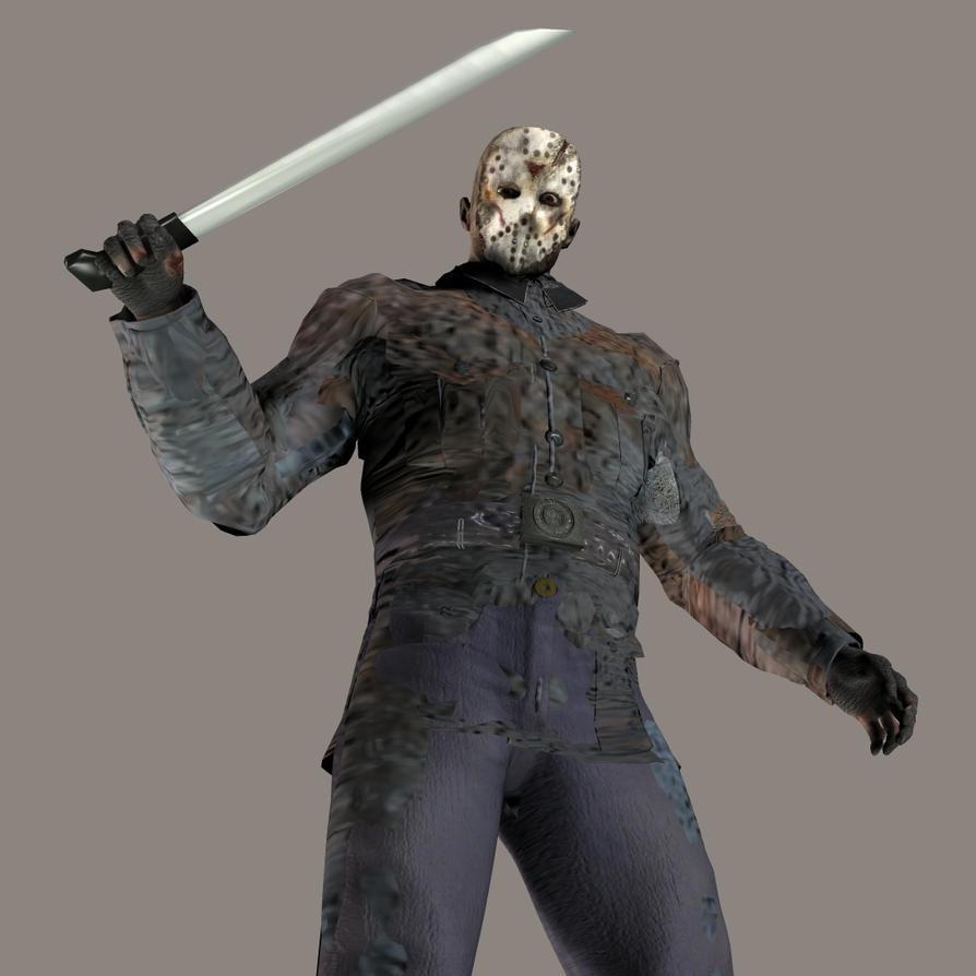 Jason Voorhees 3d - Hes here by thedarkcloak