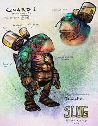 Slug Grunt paint n color by thedarkcloak