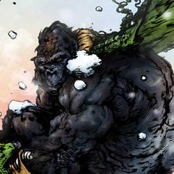 GoGo Gorilla - DETAIL by thedarkcloak