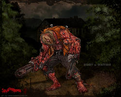 SPLATTERHOUSE - P 1988-04690 by thedarkcloak
