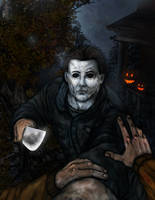 Horror Legends - Michael Myers by thedarkcloak