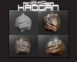 Krogan - 3d Sculpt 4 Steps by thedarkcloak