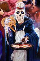 DEATH is a mean cook by thedarkcloak