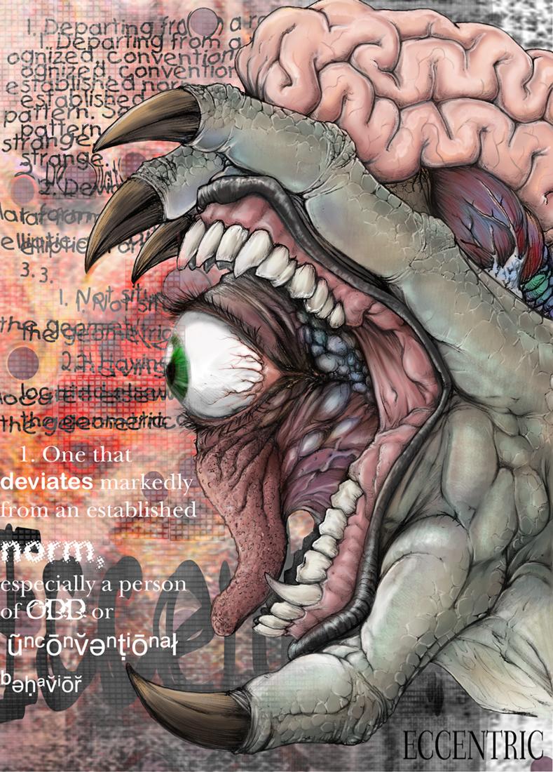morbid ECCENTRIC beauty by thedarkcloak