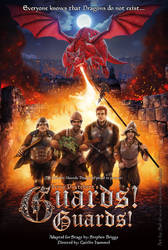 Terry Pratchett's Guards! Guards! by thedarkcloak