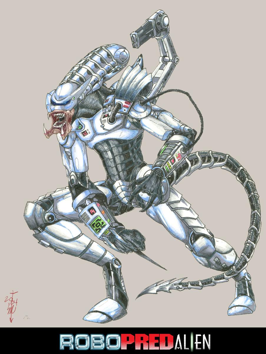 RoboPredAlIen Hybrid by thedarkcloak