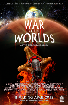 War of the Worlds - A Live Theatrical Radio Drama