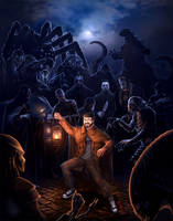 DB the Monster Hunter by thedarkcloak