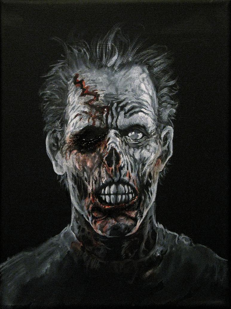 Mr. Socket the Zombie by thedarkcloak