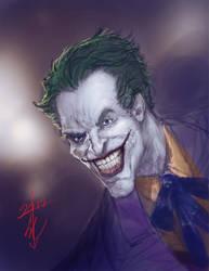Joker Speed Sketch by thedarkcloak