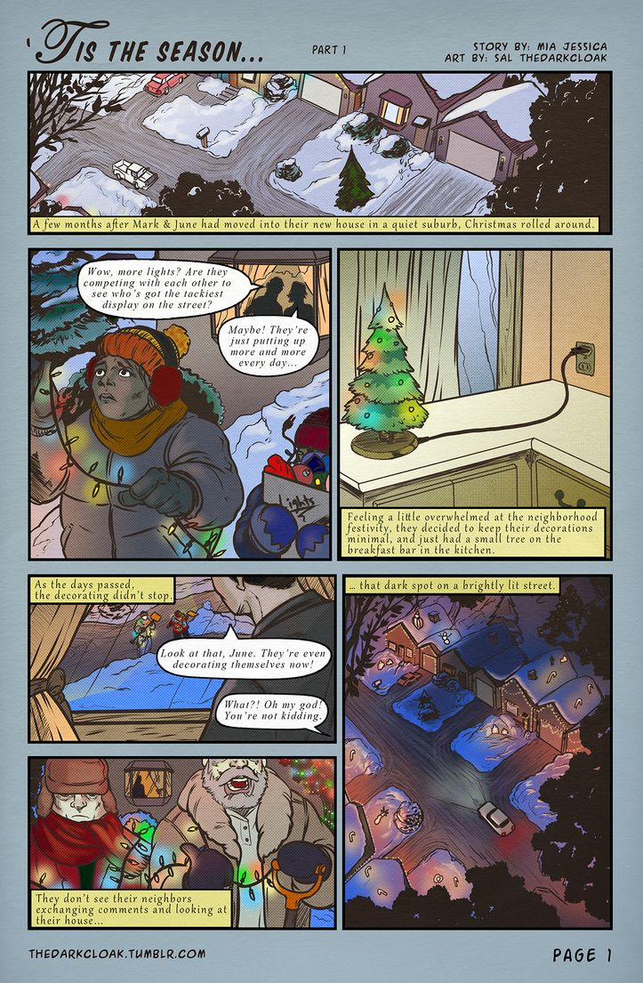 Tis the Season - part 1 by thedarkcloak