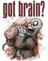 HEY Got brain? by thedarkcloak