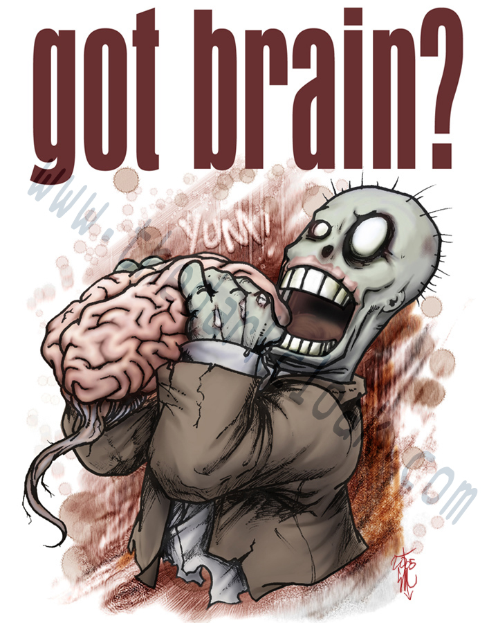 HEY Got brain? by thedarkcloak