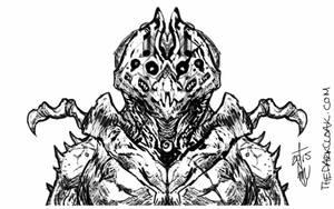 Insectoid Alien Warrior Concept by thedarkcloak