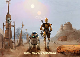 Fallout Wars - Wasteland Wanderer Droids