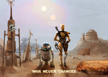 Fallout Wars - Wasteland Wanderer Droids