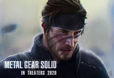 Metal Gear Solid 2020 by thedarkcloak