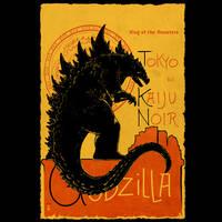 Gojira Noir by thedarkcloak