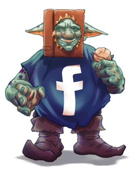 Cheeky FACEBook Goblin