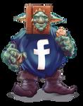 Cheeky FACEBook Goblin by thedarkcloak