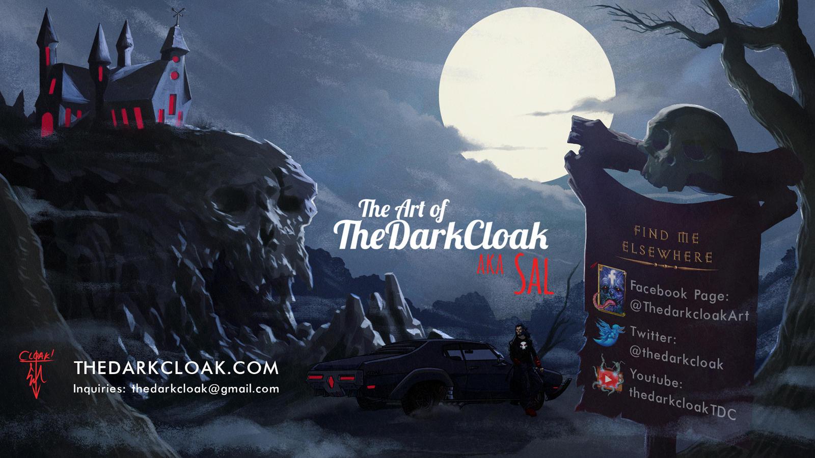 The Art of TheDarkCloak aka Sal by thedarkcloak