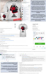 Tshirt design theft and breach of copyright... by thedarkcloak