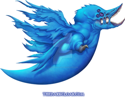 Demon Twitter Bird