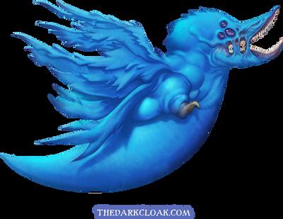 Demon Twitter Bird