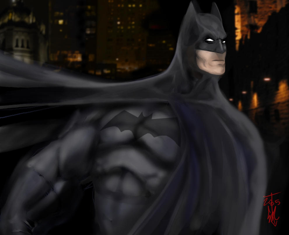 Batman - Darkest Knight by thedarkcloak