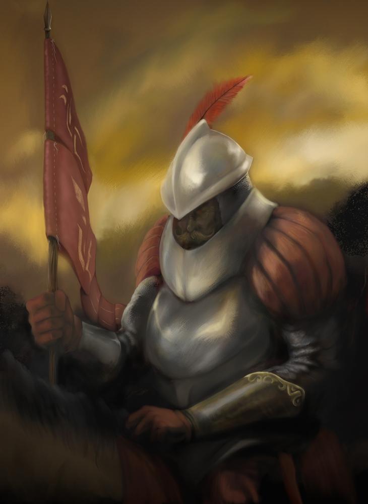 Conquistador de las Tinieblas by thedarkcloak