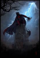 Pagan Priest - CoH commish by thedarkcloak