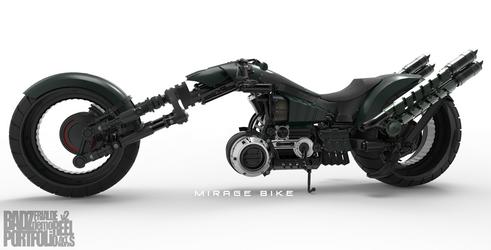 Mirage Bike 1 (WIP) by badzter09