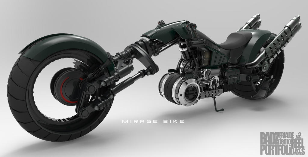 Mirage Bike 3 Wip By Badzter09 On Deviantart