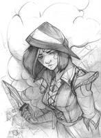 The Hunter by Klika-lio