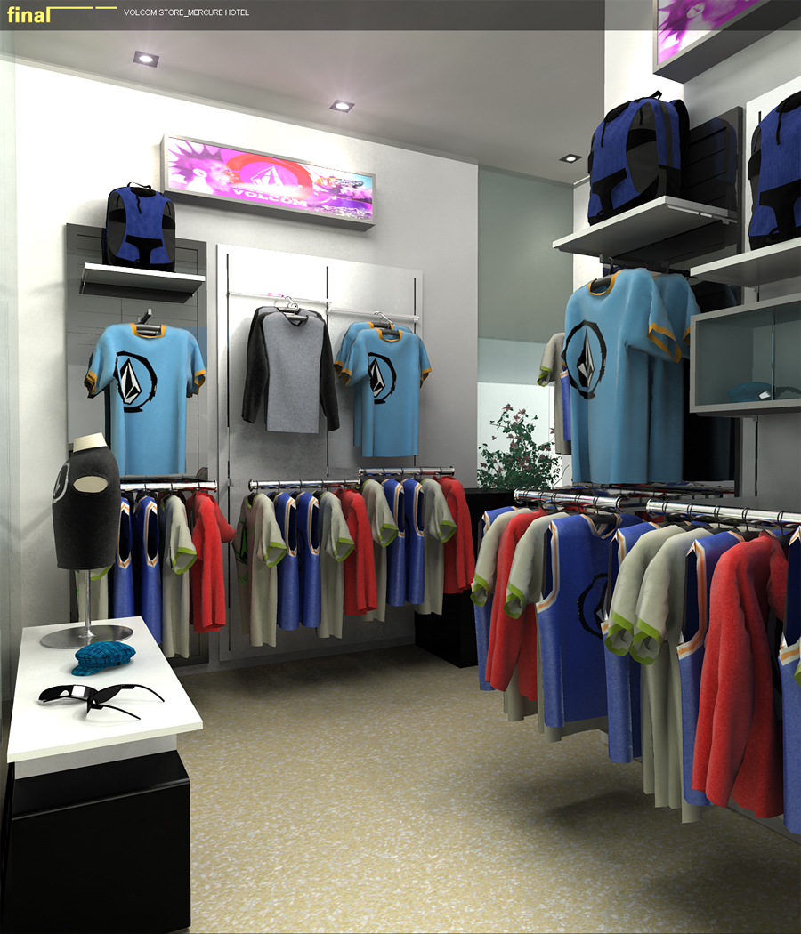 Clothing outlet store