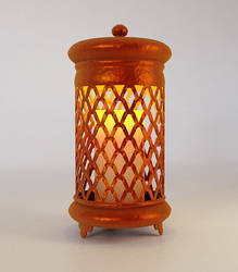 3D Artwork_Bronze Candle Light