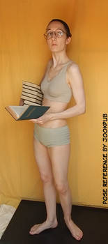 Bookworm #004 (pose reference)