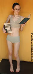 Bookworm #005 (pose reference)