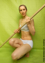 Stick/Wand #007 (pose reference)