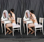 Dressing table #004 (pose reference)