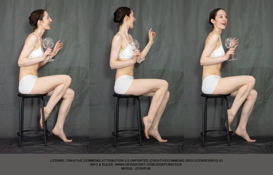 Sitting #018 (pose reference)