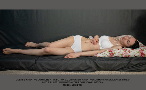 Sleeping #002 (pose reference)