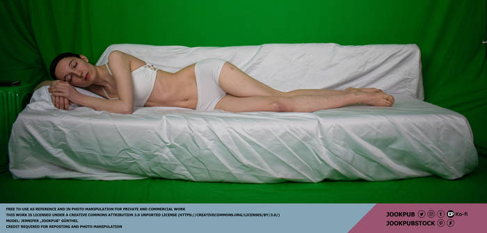 Sleeping #012 (pose reference)