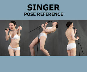 Preview: Singer Pose Pack