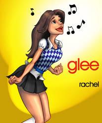 Glee - Rachel Berry Sings by pootpoot1999