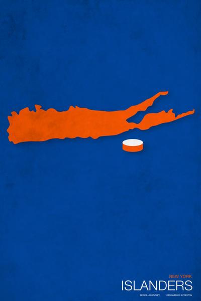 Islanders Minimalist Logo By Pootpoot1999